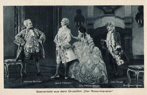 Jaque Catelain, Michael Bohnen, Ellie Felicie Berger and Carl Forest in Der Rosenkavalier (1925)