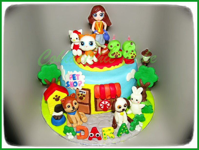 Cake Pet Shop DARA 18 cm