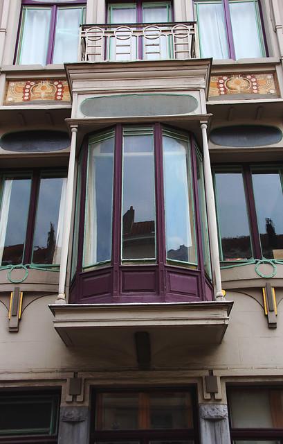 BRUXELLES - Art nouveau / Arch. Paul Cauchie (1875-1952)