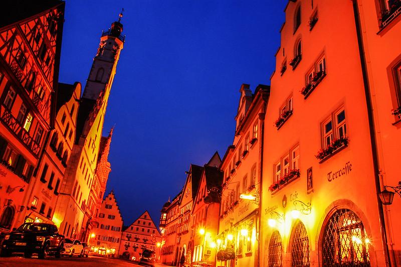 羅騰堡夜景 3