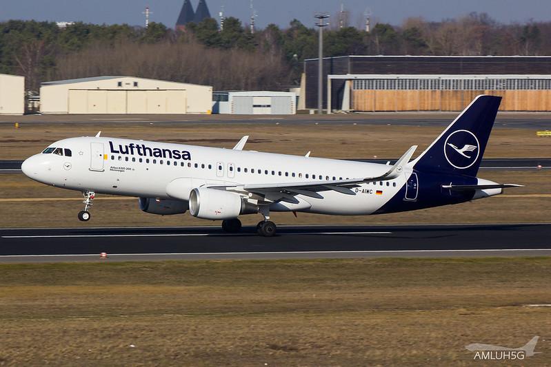 Lufthansa - A320 - D-AIWC (2)