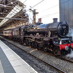 Steam Train & Preston Railway Station