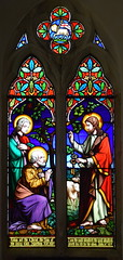 Christ gives keys to St Peter (Thomas Baillie, 1861)