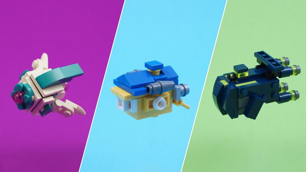The LEGO Movie 2 - Microscale Spaceships