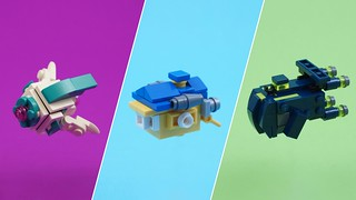 The LEGO Movie 2 - Microscale Spaceships | by BrickinNick