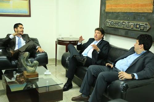 #GabineteAberto - Secretários Wilder Morais e Adriano Rocha Lima