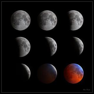 Lunar Eclipse Composite