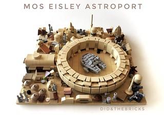 Mos Eisley Astroport   by did b