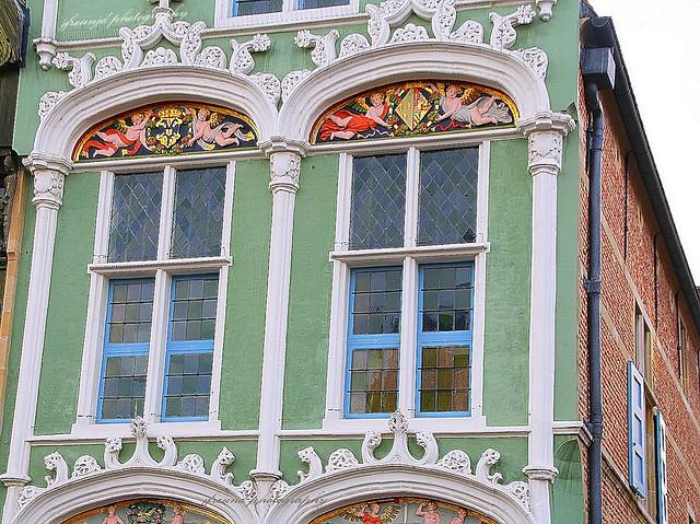 Facades in Mechelen