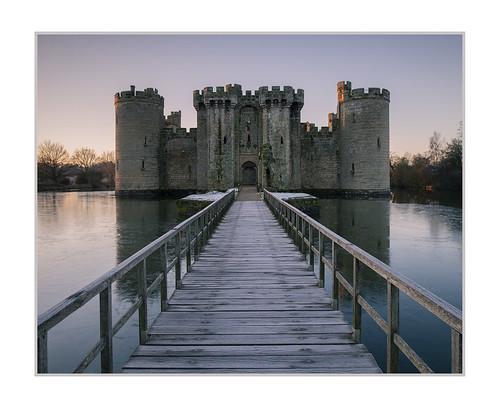 bodium castle sussex eastsussex sunrise