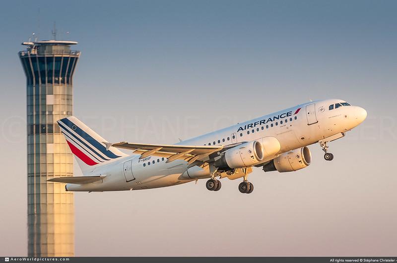 [CDG.2012] #Air.France #AF #AFR #Airbus #A319 #F-GRXF #awp