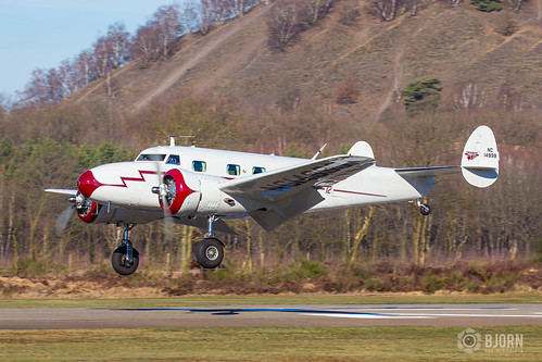 NC14999 Lockheed 12A Electra Junior, Genk/zwartberg EBZW/GNK | by neplev1