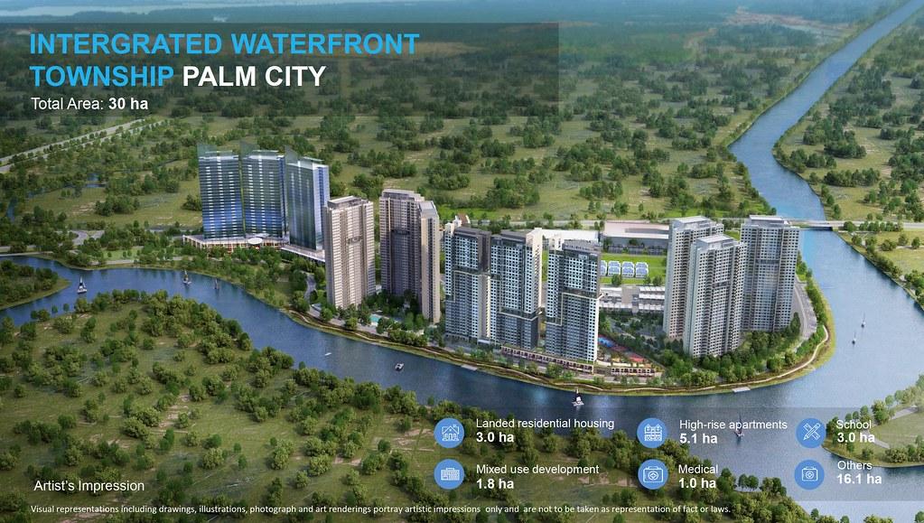Tổng quan dự án khu đô thị Palm City