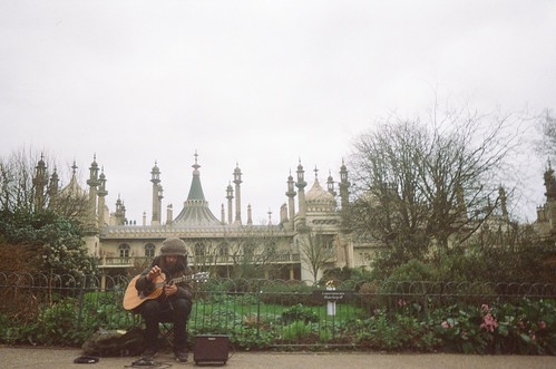 Busker Outside Brighton Pavilion | by Jamie Kitson