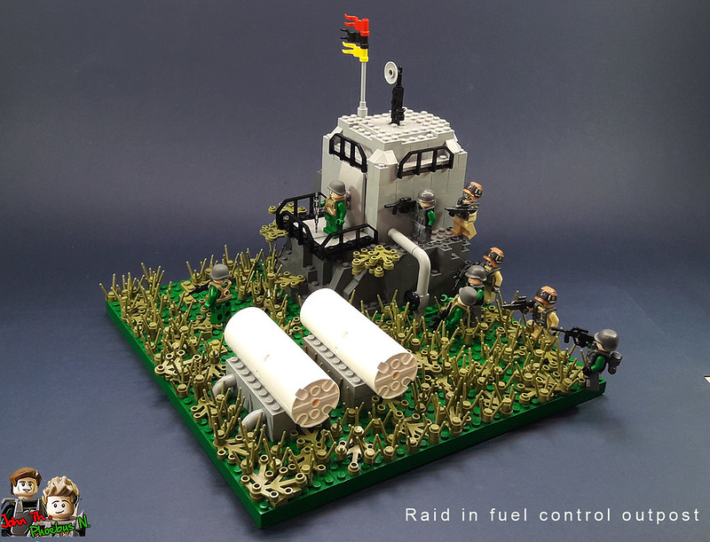 [Great Brick War - Adamson (γιος Adam)] - Raid in Fuel Control Outpost 40481934713_6c2a10ee7f_c