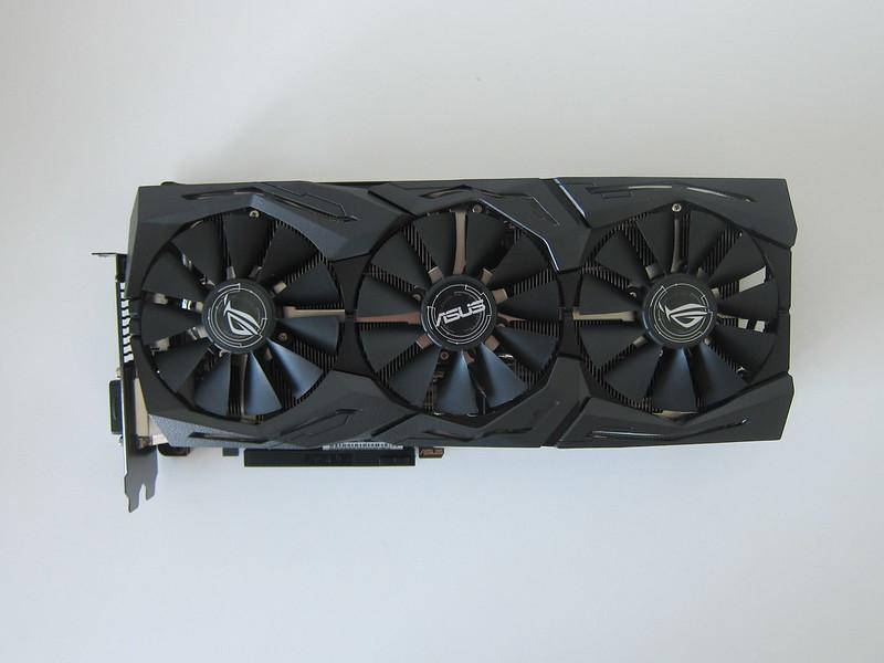 Asus ROG Strix RX VEGA56 OC Edition 8GB - Top