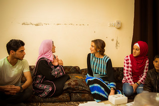 Visit to Mafraq   by queenrania