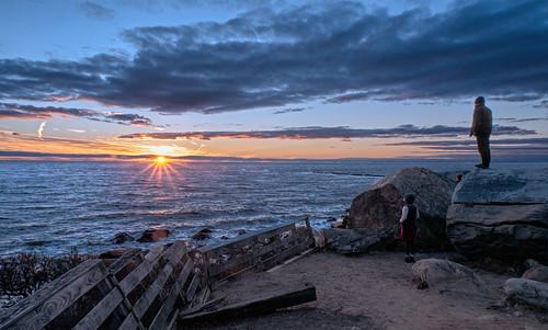 Hammonasset sunset | by Bob Gundersen