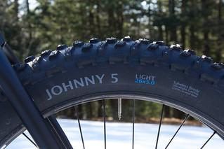 Terrene Johnny 5 Light Studded   by 44 Bikes