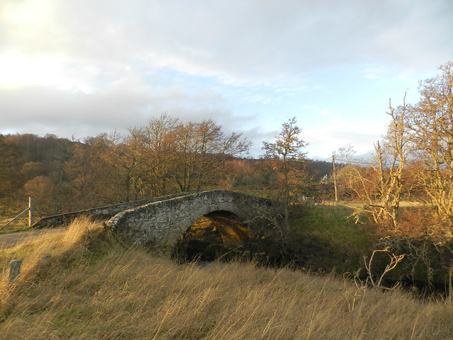 Torrdarroch Bridge, near Dunlichity, Strathnairn, Dec 2018