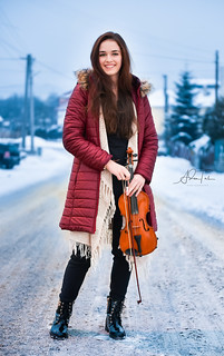 Winter violin