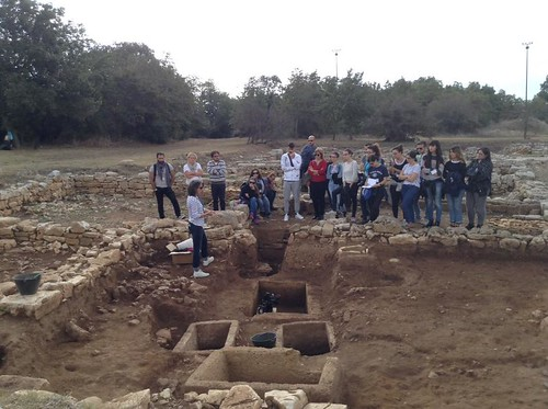 parco archeologico di monte sannace - scavi