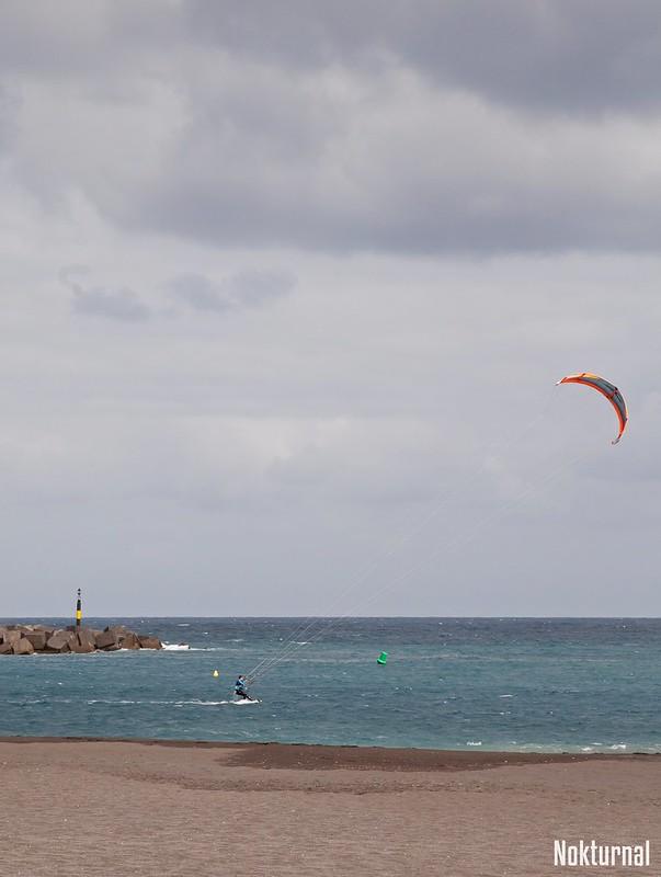 Kite à Santa Cruz