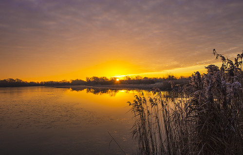 canon6d landscape lake water calm reflection sky clouds outdoors nature uk cambridgeshire sunrise daen