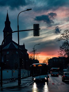 Sunset street cracow | by Marat Dakunin- casual stream