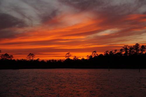 northcarolina northwestcreek fairfieldharbour sunset spectacularsunsetsandsunrises cloudsstormssunsetssunrises cloudscape sony sonyphotographing sonya58 sky