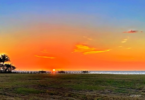 blessed magic dusk clouds spring march realestate waterfront beachfront beachlife beach seaside pier dock imran iphonexsmax luxuryliving luxury landscape travelogue travel jetski silhouette boating apollobeach tampa tampabay florida