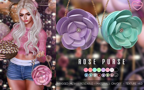 Rose Purse @ Spring Flair