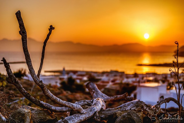Sunrise  on Kasos Island