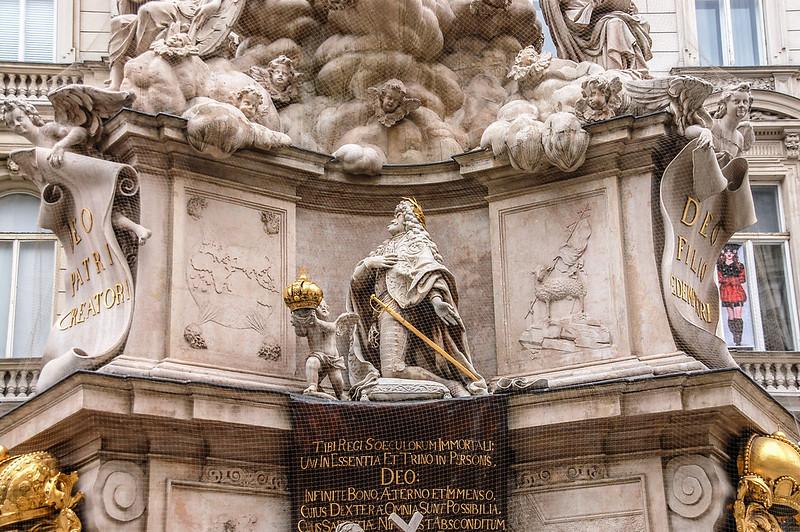 黑死病紀念柱(Plague column, Vienna) 6