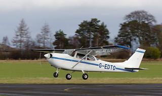G-EDTO Cessna 172, Scone