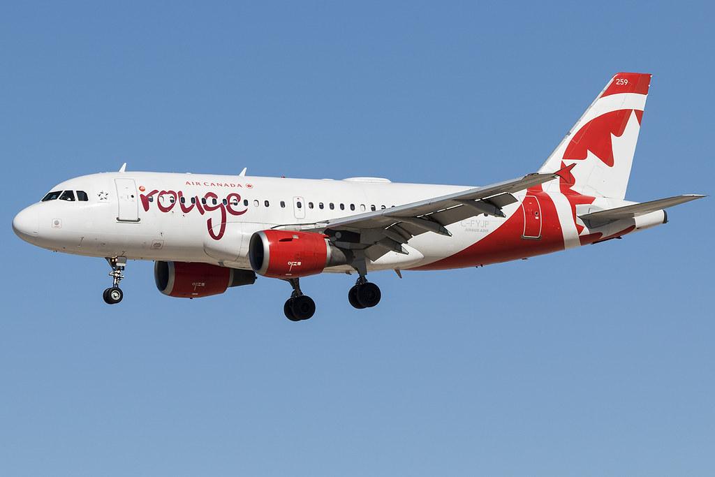 Air Canada Rouge A319 C-FYJP