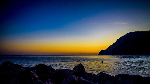 Puesta de Sol en Monterosso, Cinque Terre