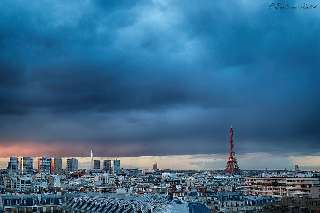 Sunset Parisien