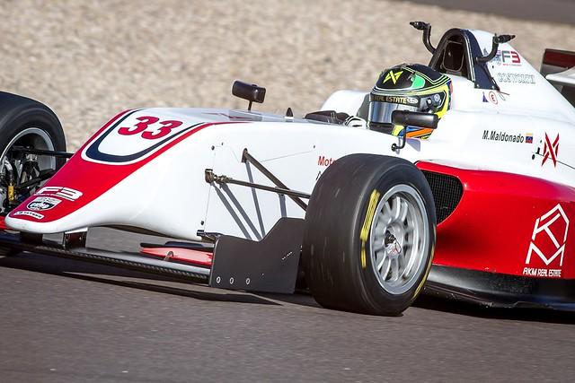 Manuel Maldonado - Fortec - Tatuus-Cosworth MSV F4-016 - #33