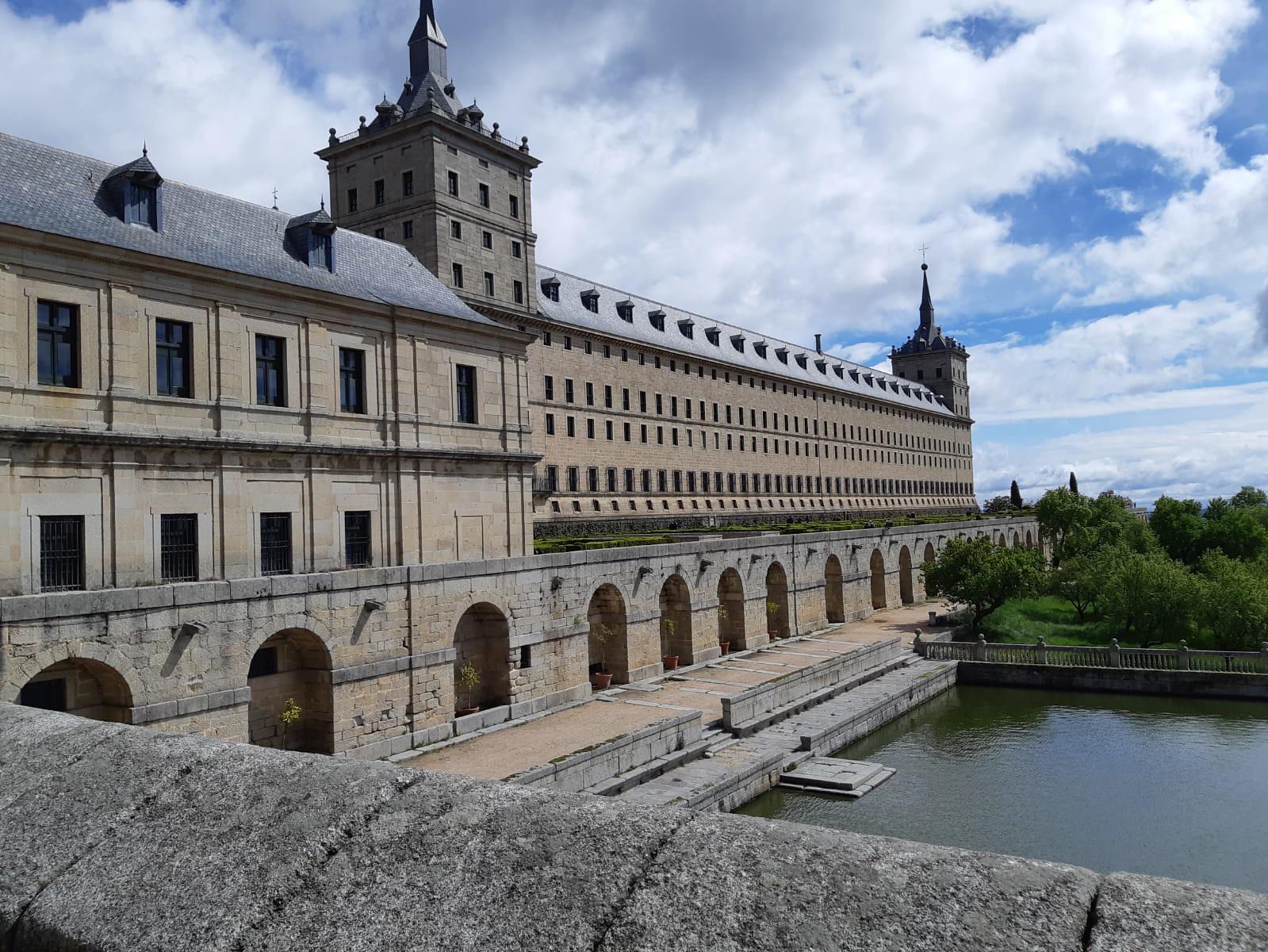 Vista de San Lorenzo del Escorial.