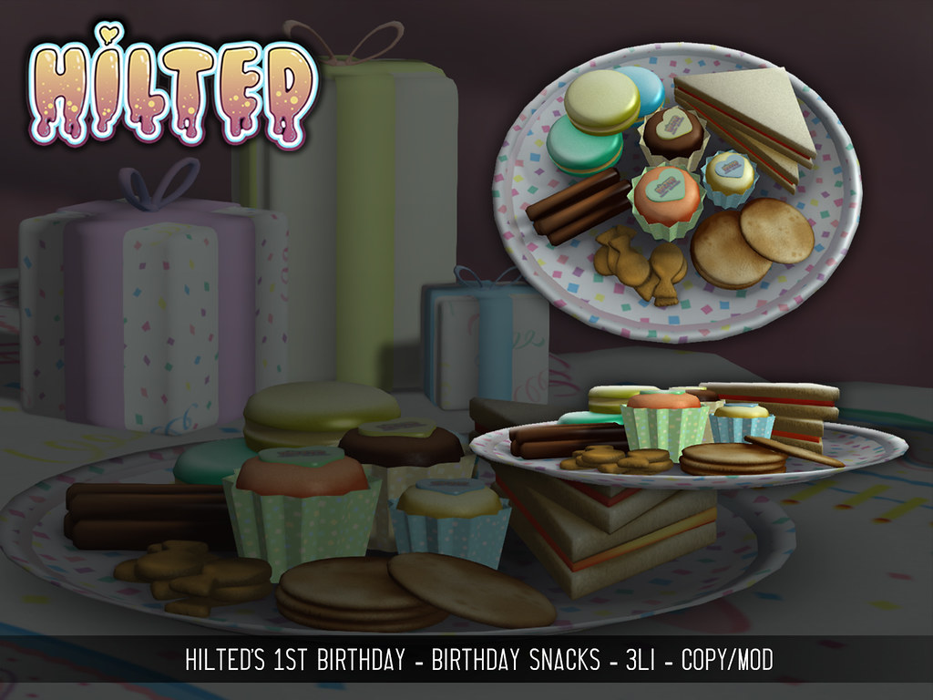 HILTED – Birthday Snacks Group Gift!