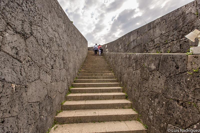 Escaleras al mirador Agari-no-Azana