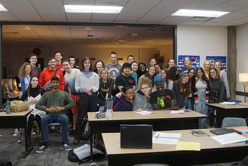 Teen leadership delegation from Israel visits Hopkins High