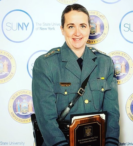 We're excited to announce the appointment of Mary Ritayik as Chief of @UPDnewpaltz, effective Jan. 1, 2019. Ritayik becomes the first woman to hold the position of chief in the 50-year history of the SUNY New Paltz University Police Department. She is one
