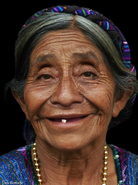 Anciana Indígena - Guatemala