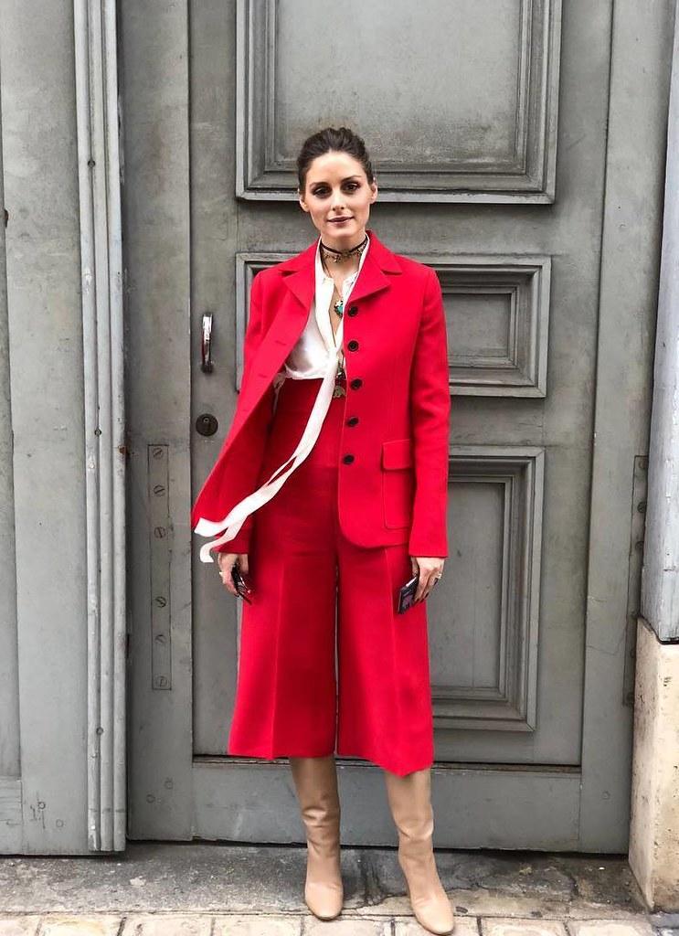 Костюм с кюлотами от Dior