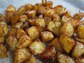 Paprika Rosemary Roasted Potatoes