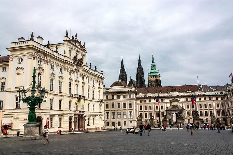 布拉格城堡西大門立面 7