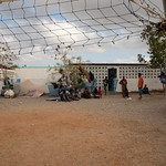 IOM Djibouti - Central courtyard in MRC Center, Obock