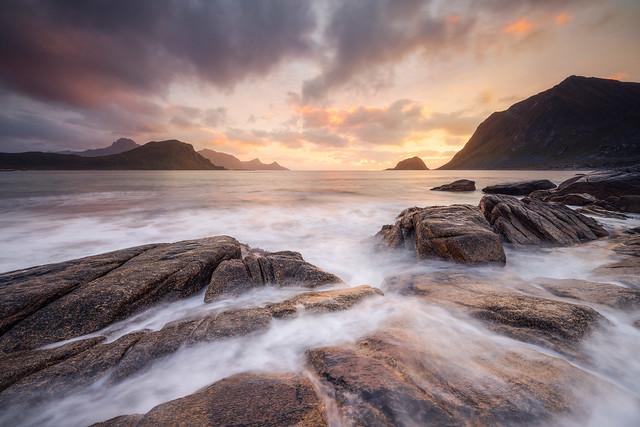 Vik Beach Sunset